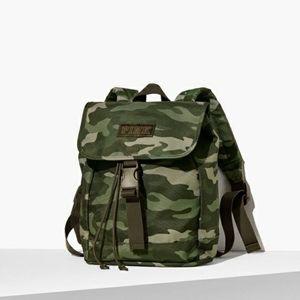 Victoria secret pink camo mini backpack